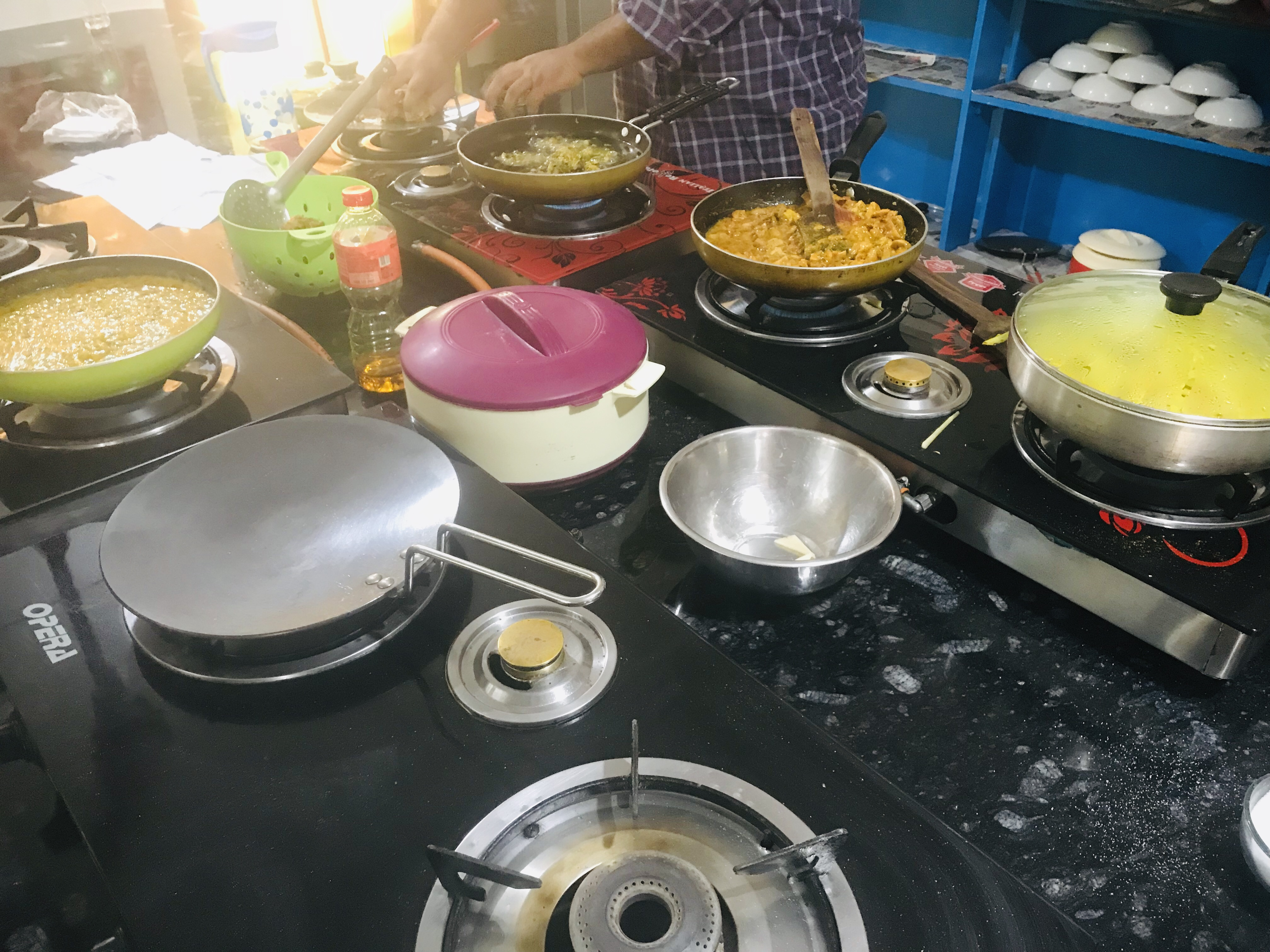Cooking class, Palolem Beach