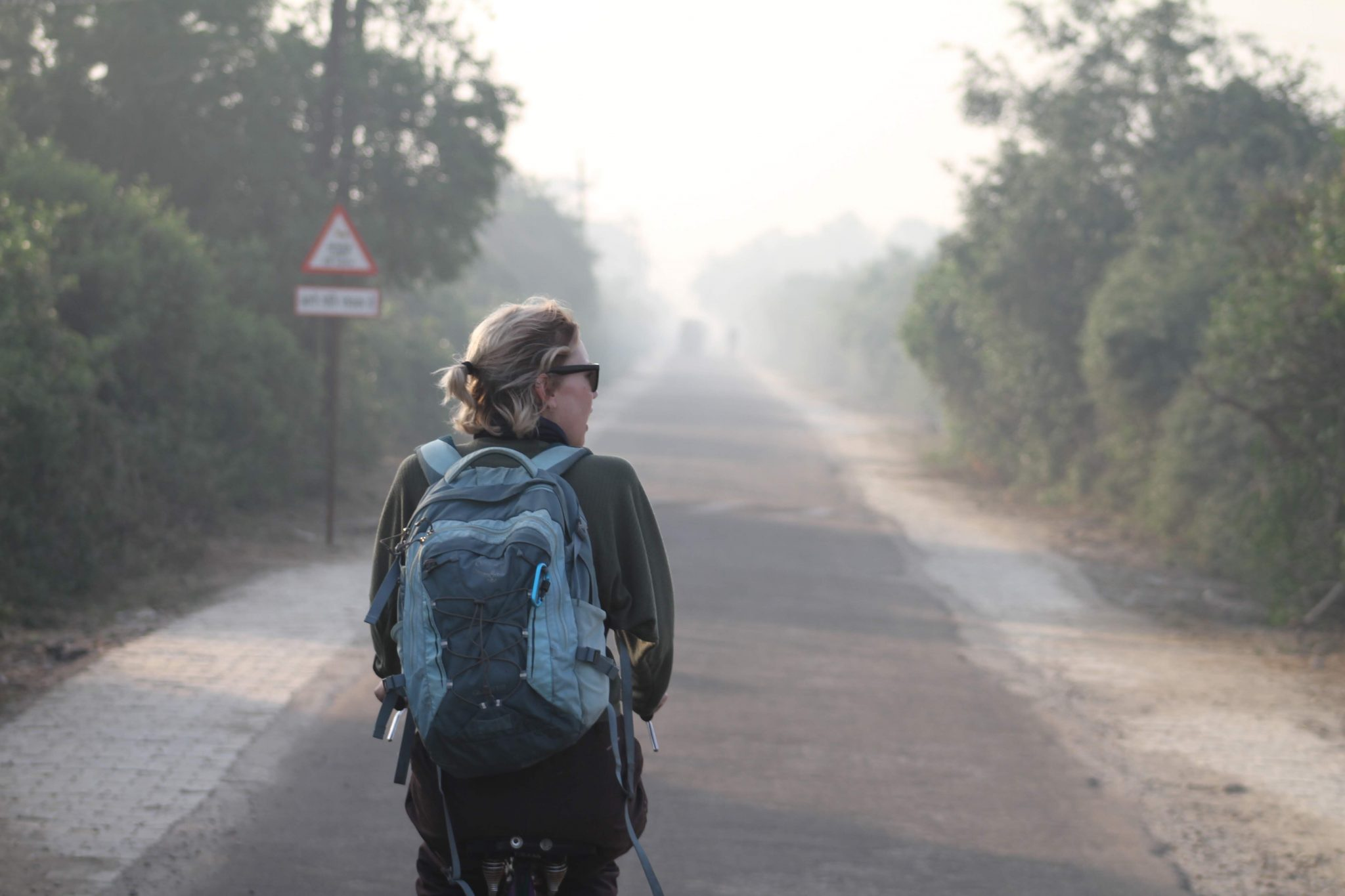 Cycling in Keoladeo National Park, India