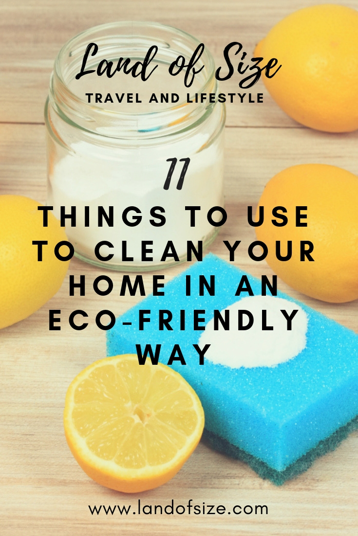 11 things you need to clean your home in an eco-friendly way