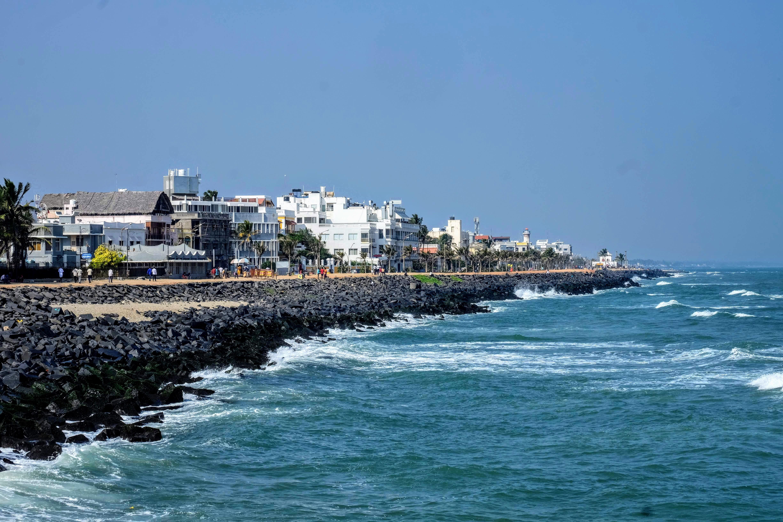 Pondicherry promenade