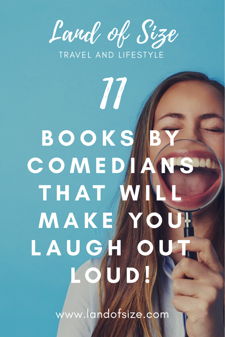 11 books written by comedians that will make you laugh out loud
