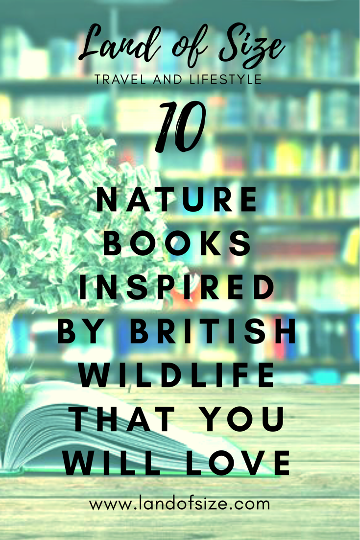 My top ten non-fiction nature books featuring British birds and mammals