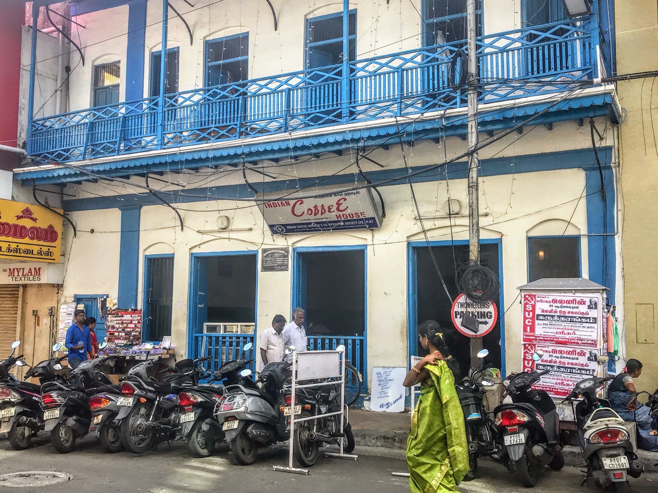 Indian Coffee House from Life of Pi, Pondicherry