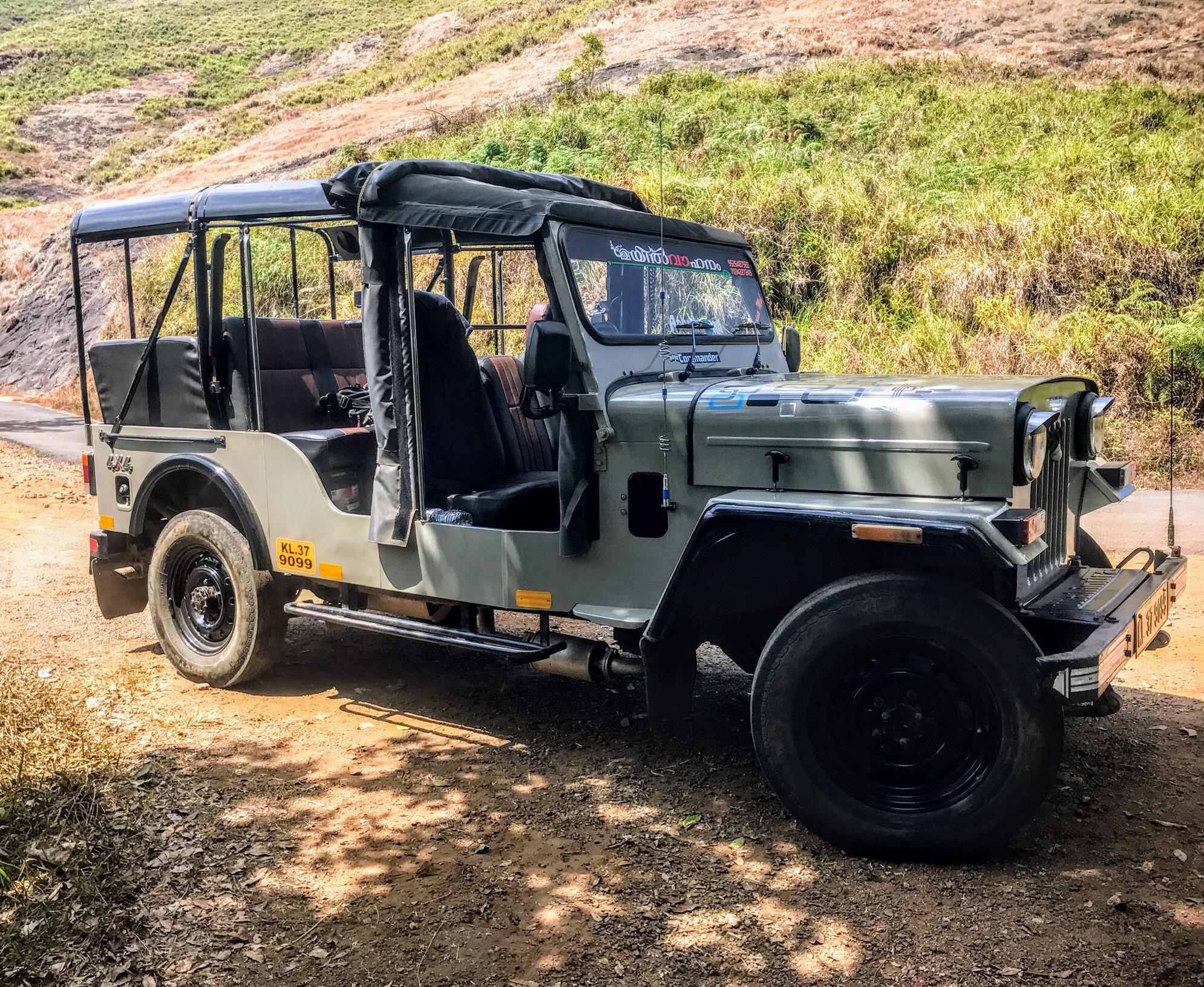 Jeep, Periyar National Park