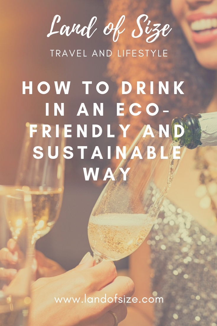 How to drink alcohol in an eco-friendly and sustainable way