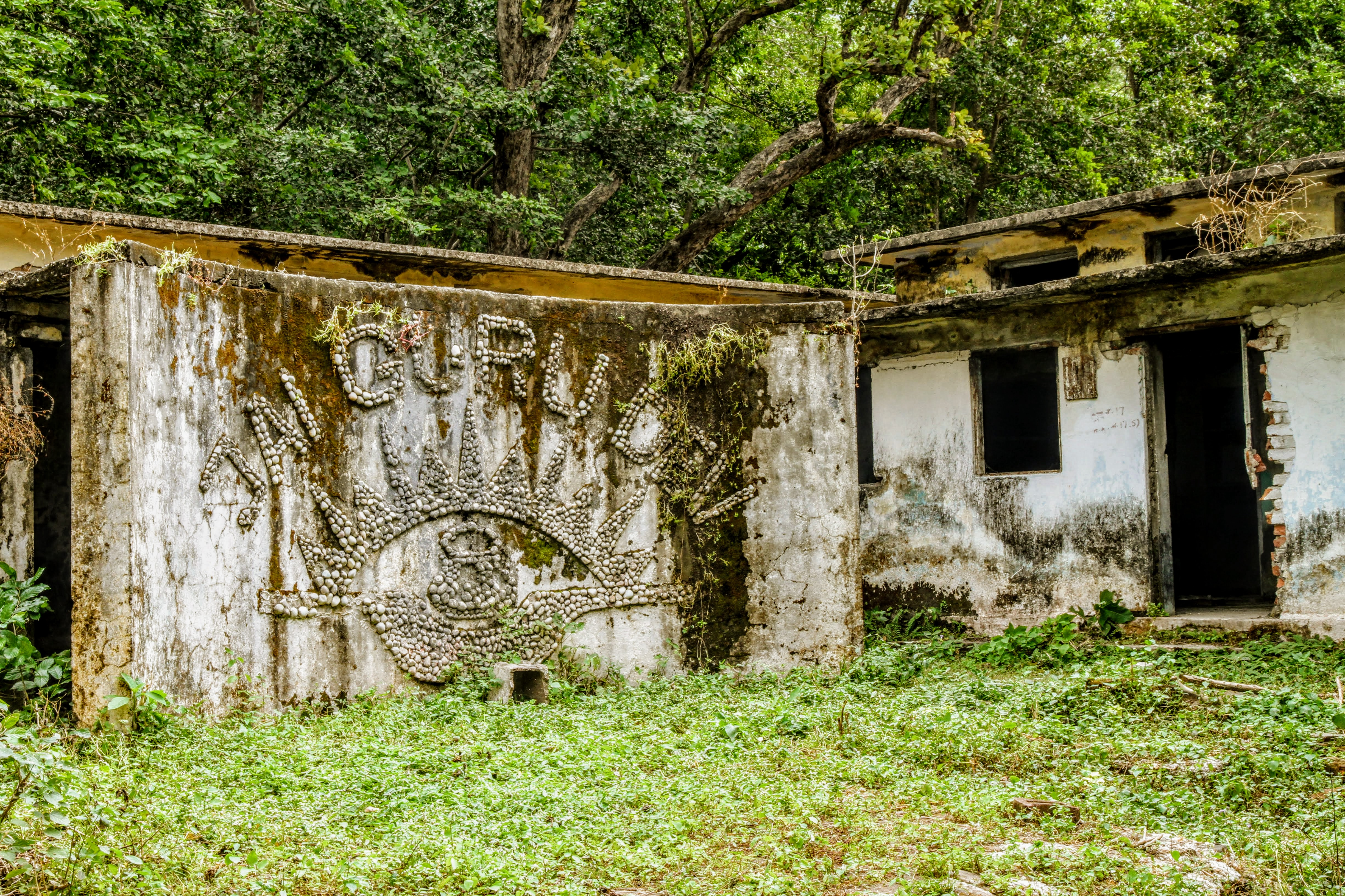 Building, The Beatles Ashram, Rishikesh