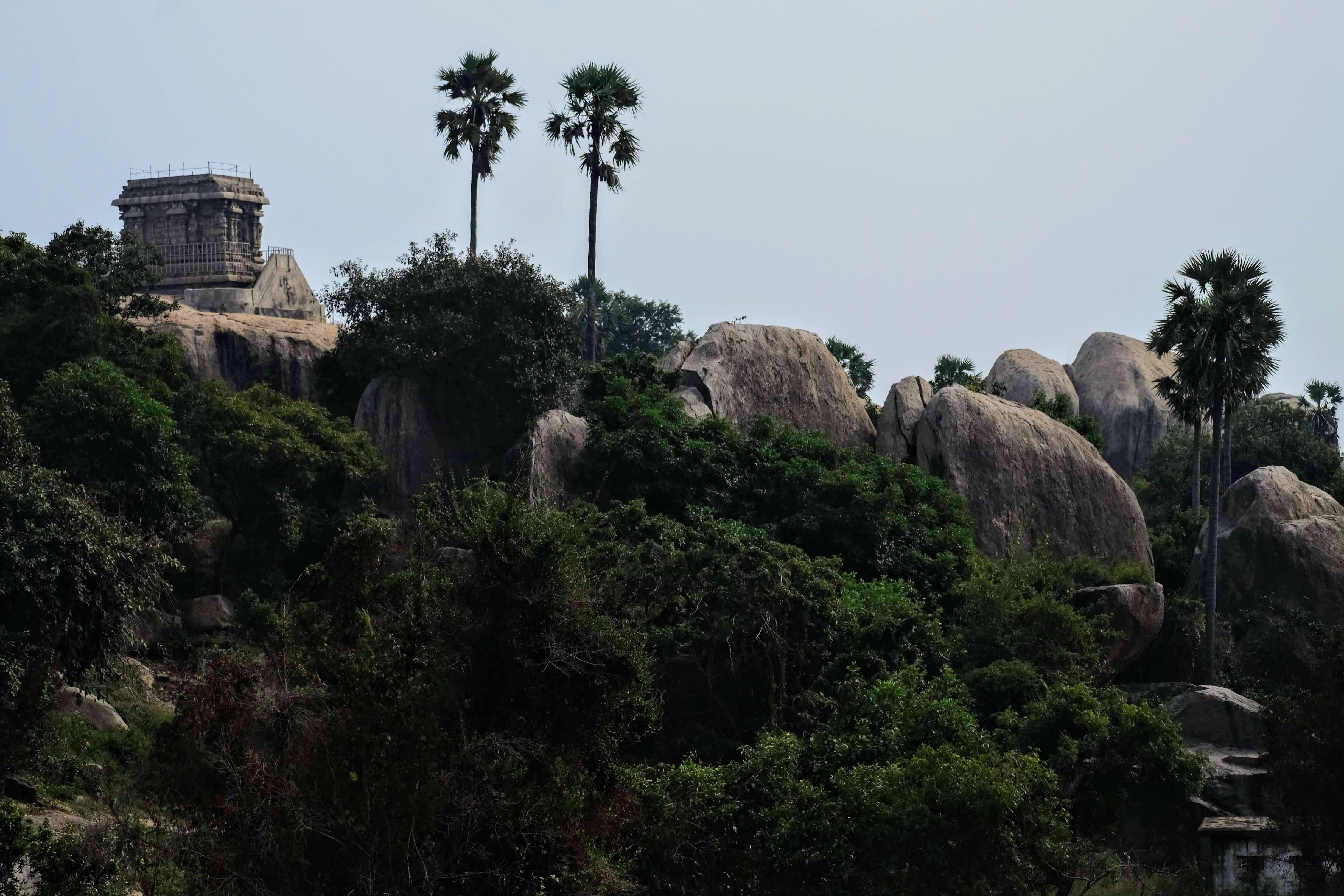 Mahabalipuram Heritage Park, South India