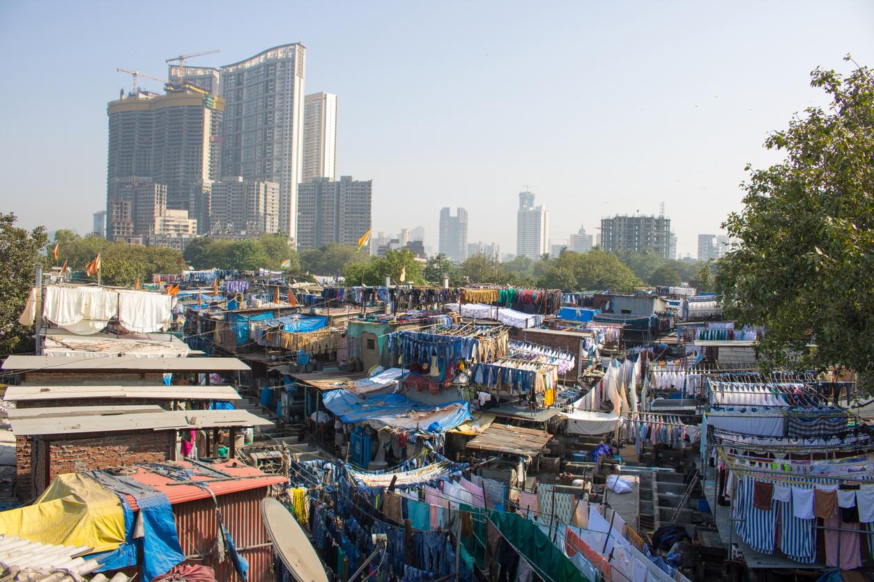 Dharavi Slum, Mumbai