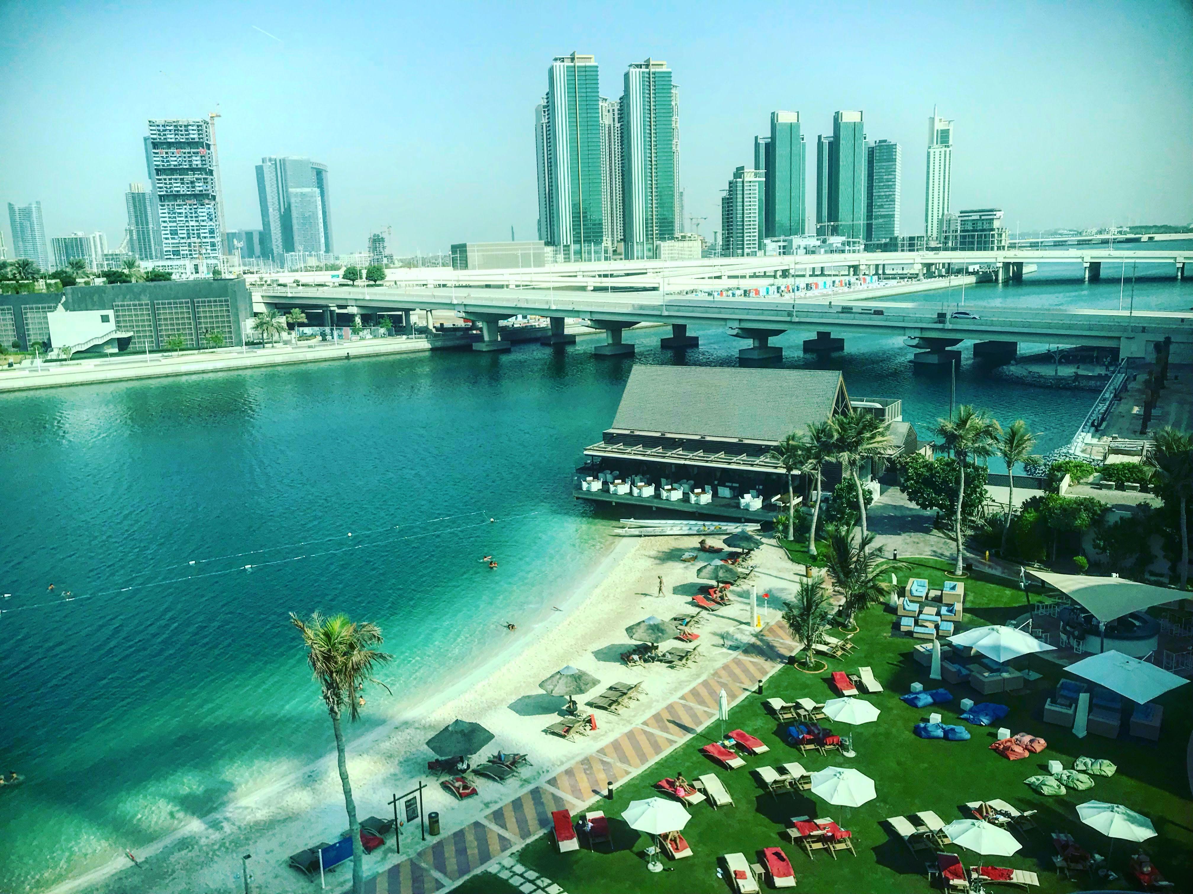 View from Abu Dhabi Mall, Abu Dhabi, UAE