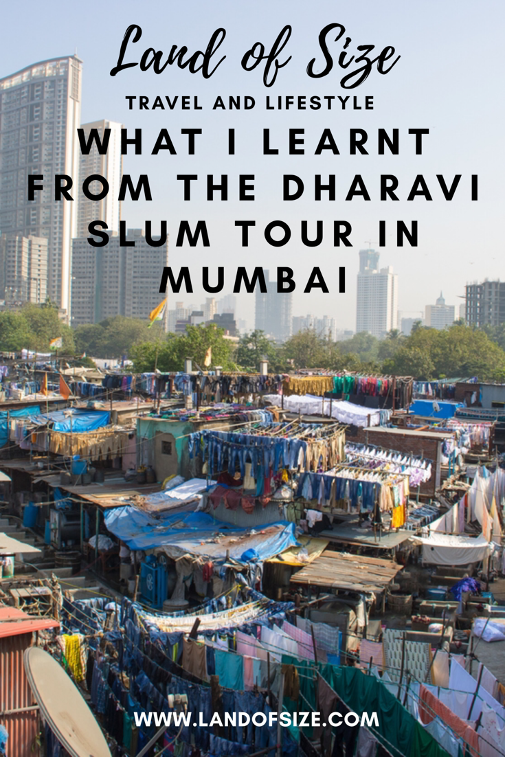 What I learnt from going on a tour of Mumbai's Dharavi slum in South India