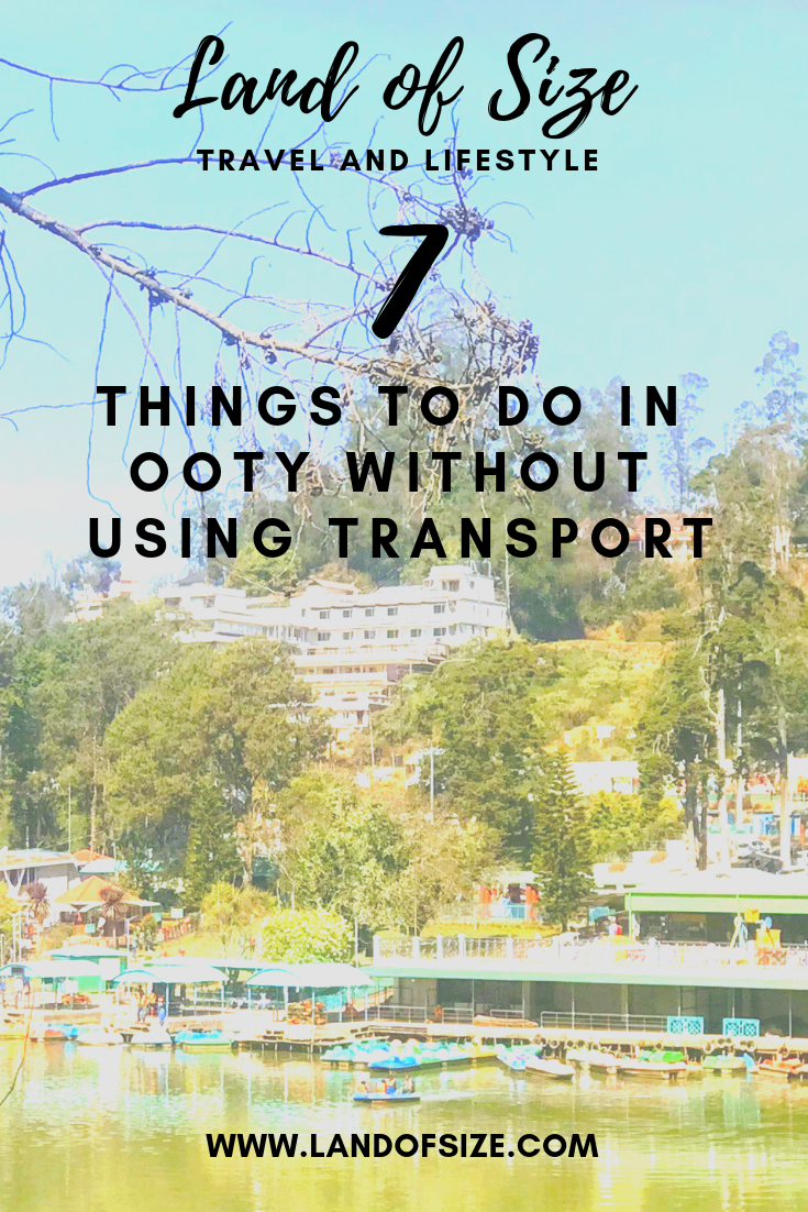 7 cheap and easy things to do in Ooty without using transport