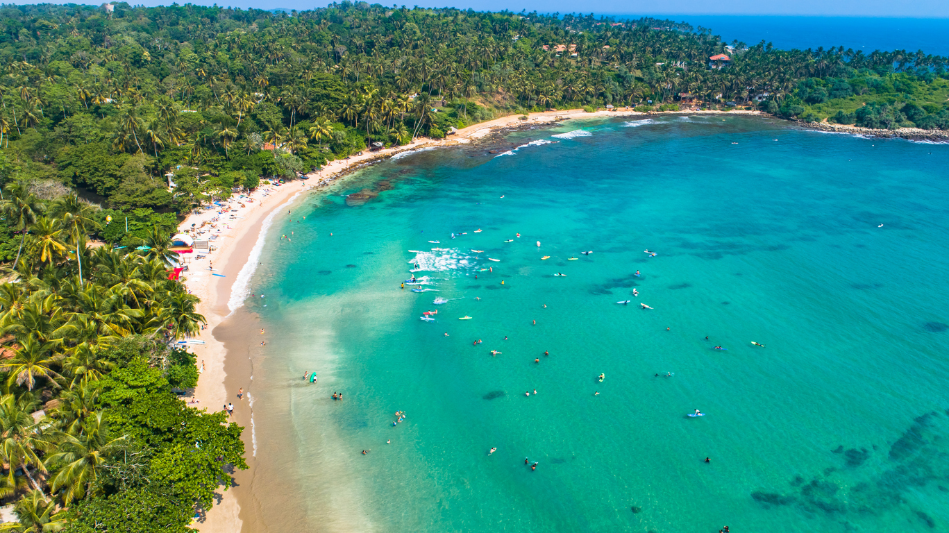 Hiriketiya Beach, Sri Lanka