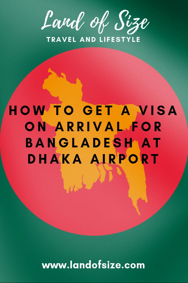 How to get a visa on arrival for Bangladesh at Dhaka airport