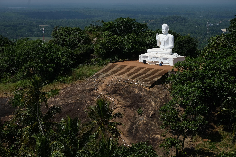 Buddha, Mihintale, Sri Lanka