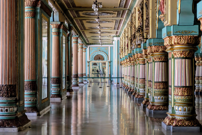 Interior of Mysuru Palace, Mysore/Mysuru, South India
