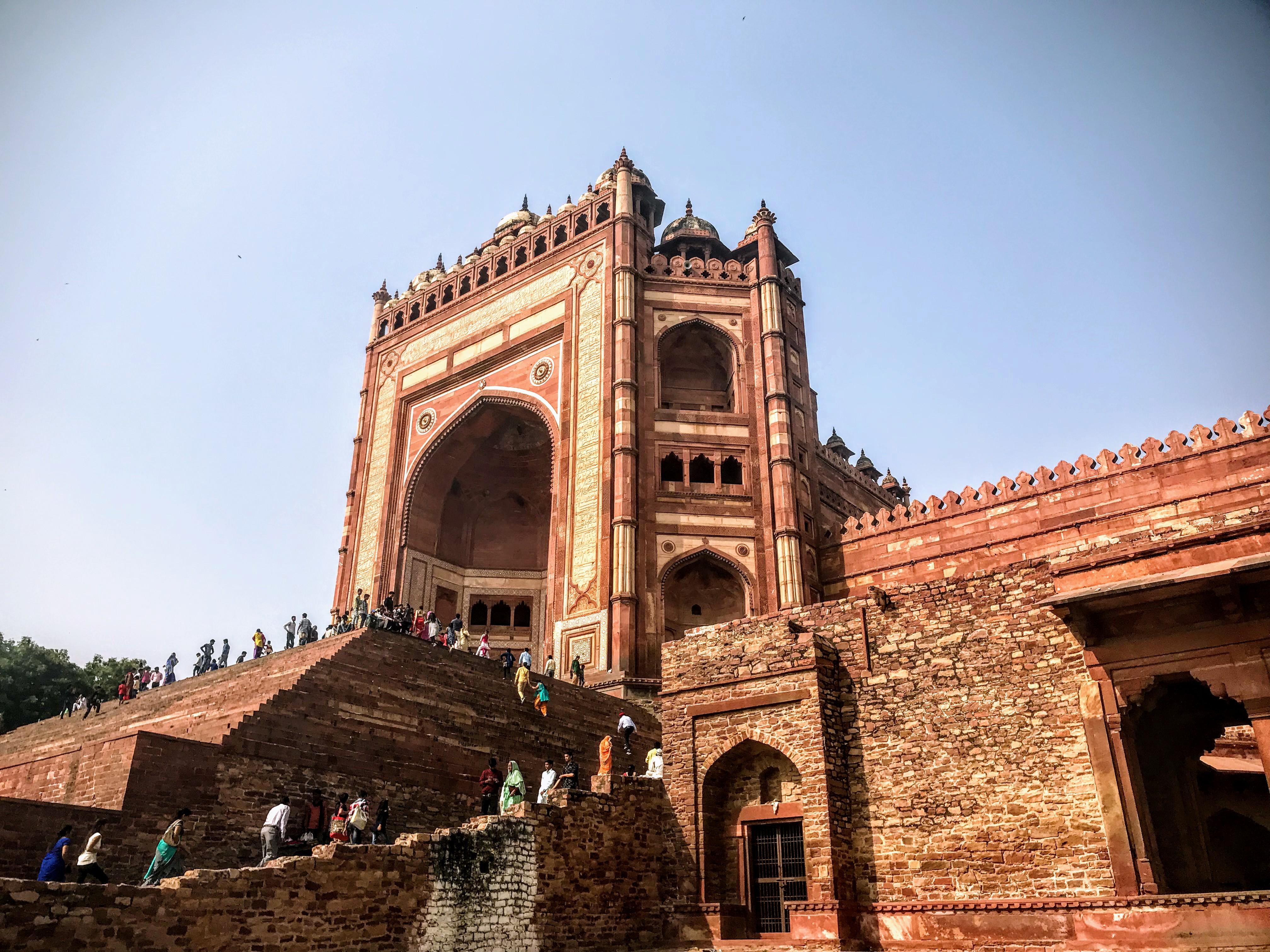 Buland Darwaza, Jama Masjid, Fatehpur Sikri, North India