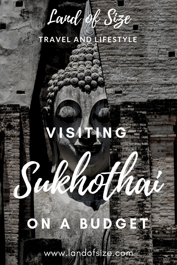 How to visit the Sukhothai ruins on a backpacker budget