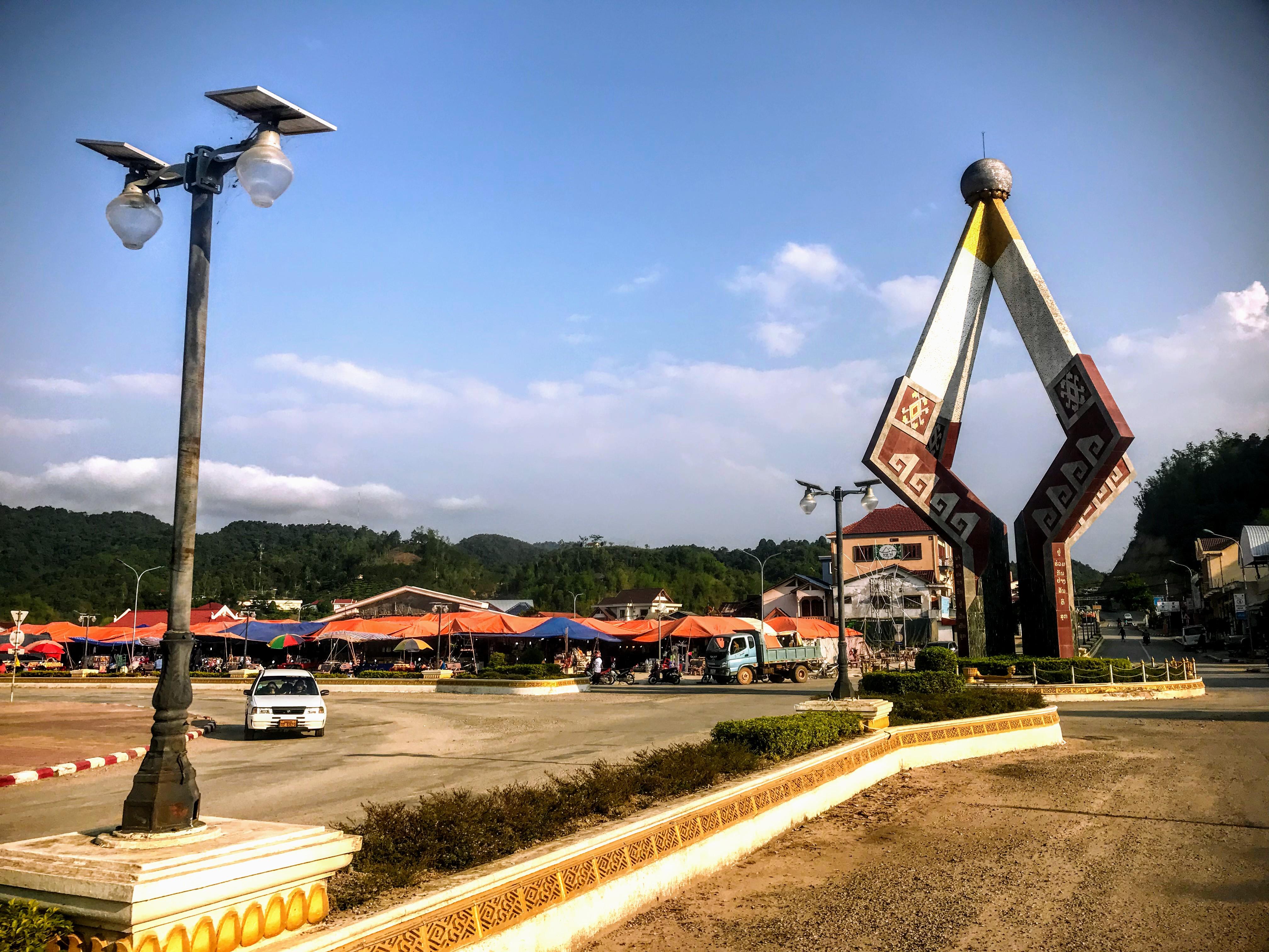 Xam Neua centre, Laos