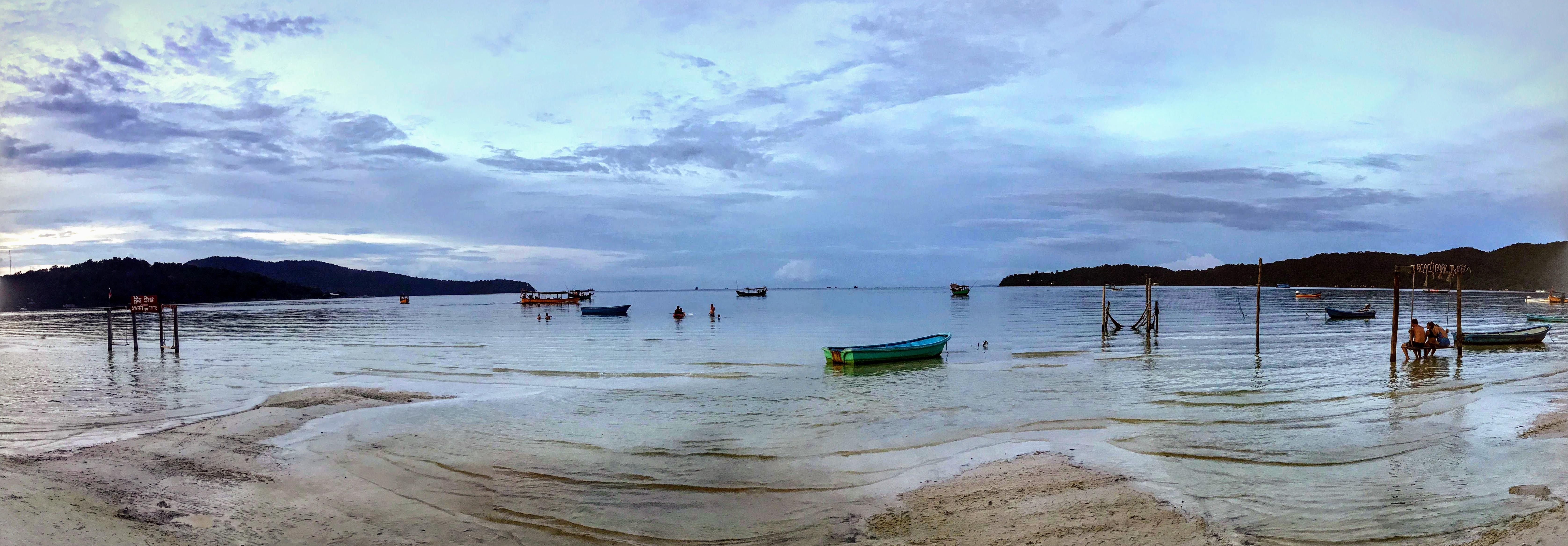 Saracen Beach, Koh Rong Samloem, Cambodia