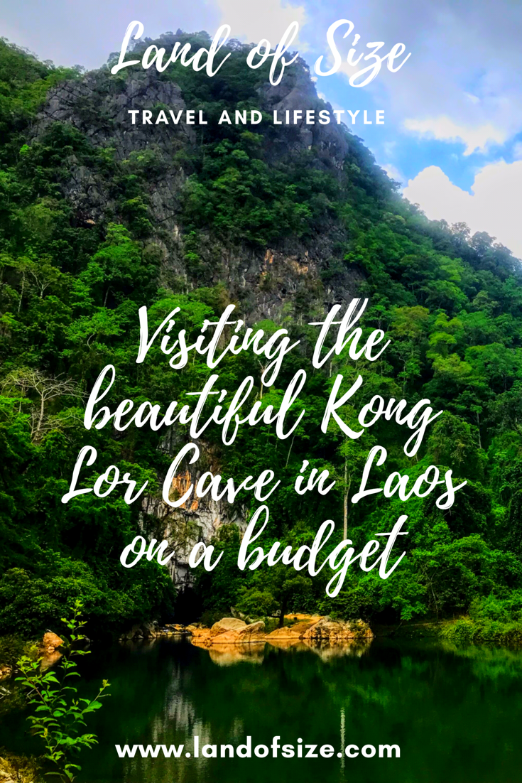 Visiting the beautiful Kong Lor Cave in Laos on a budget