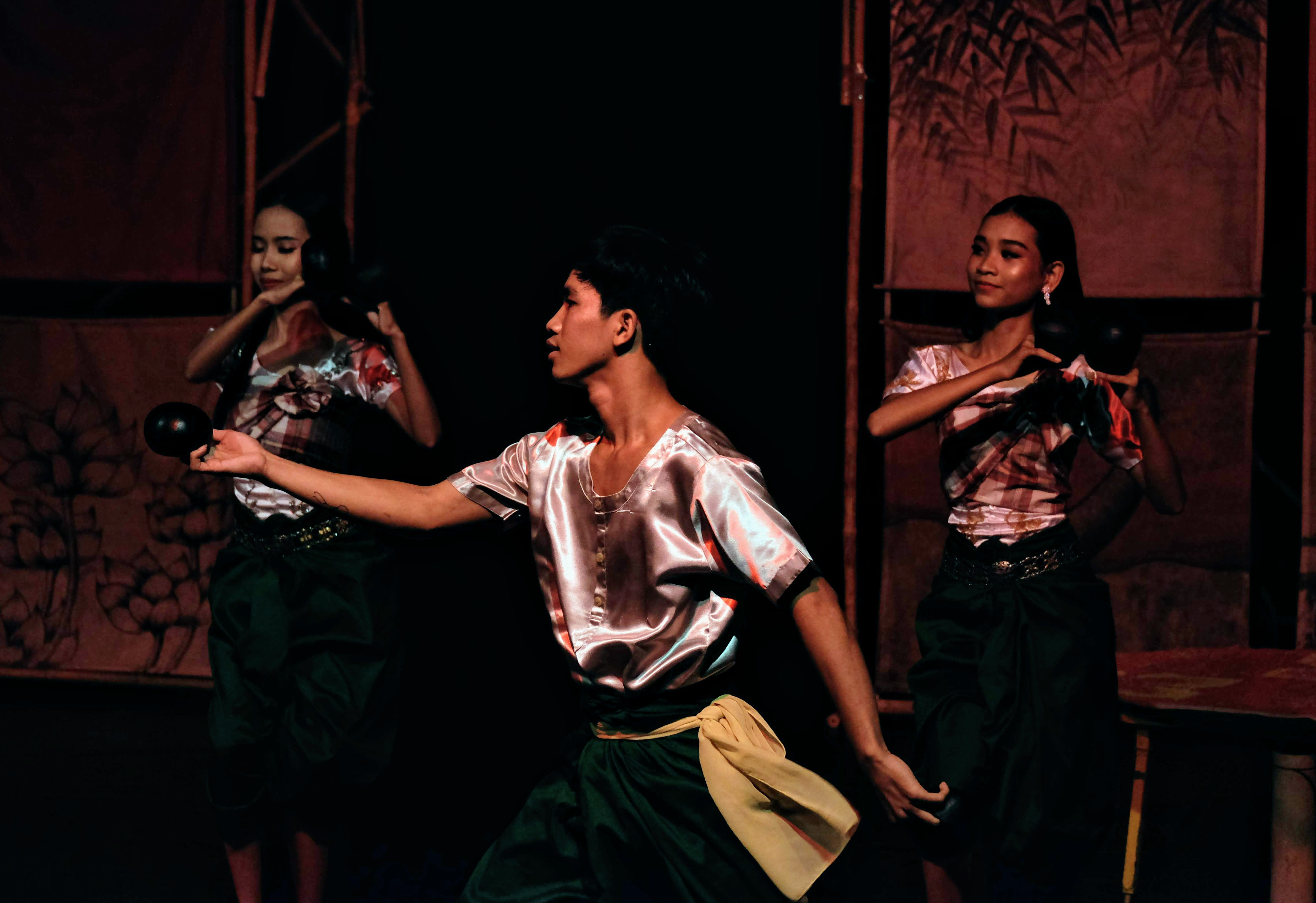 Performers at Phare Circus, Battambang, Cambodia
