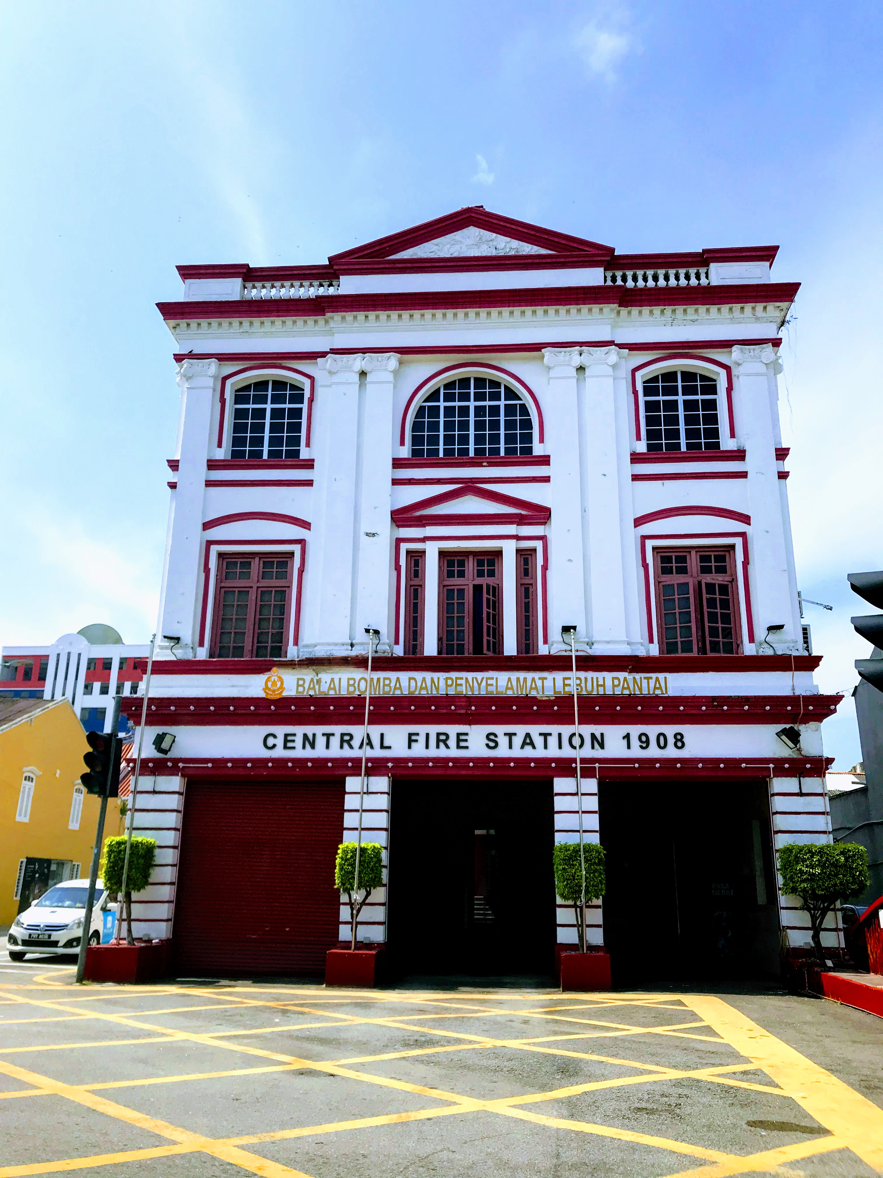 Central Fire Station, George Town, Penang, Malaysia