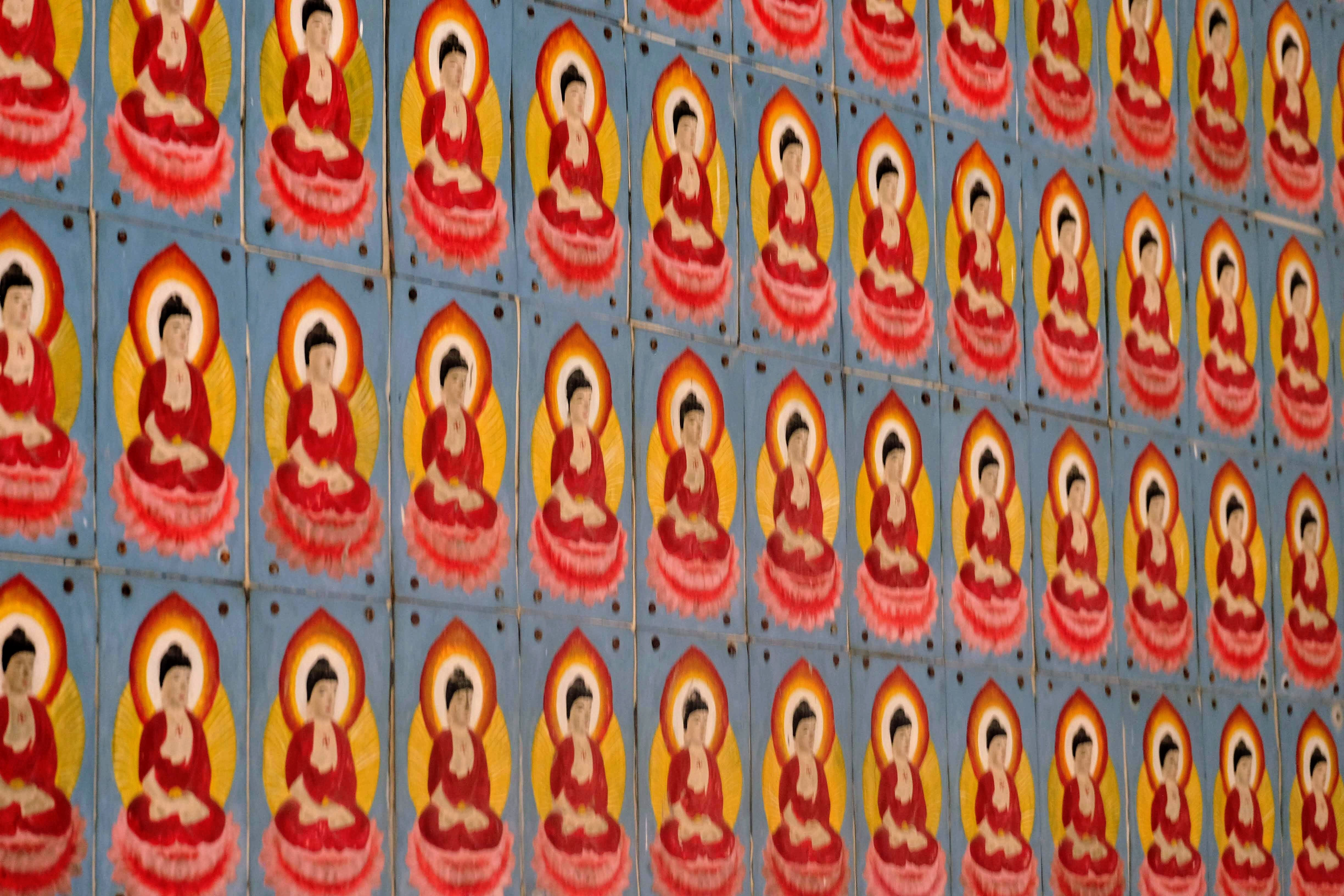 Pictures of Buddha, George Town, Malaysia