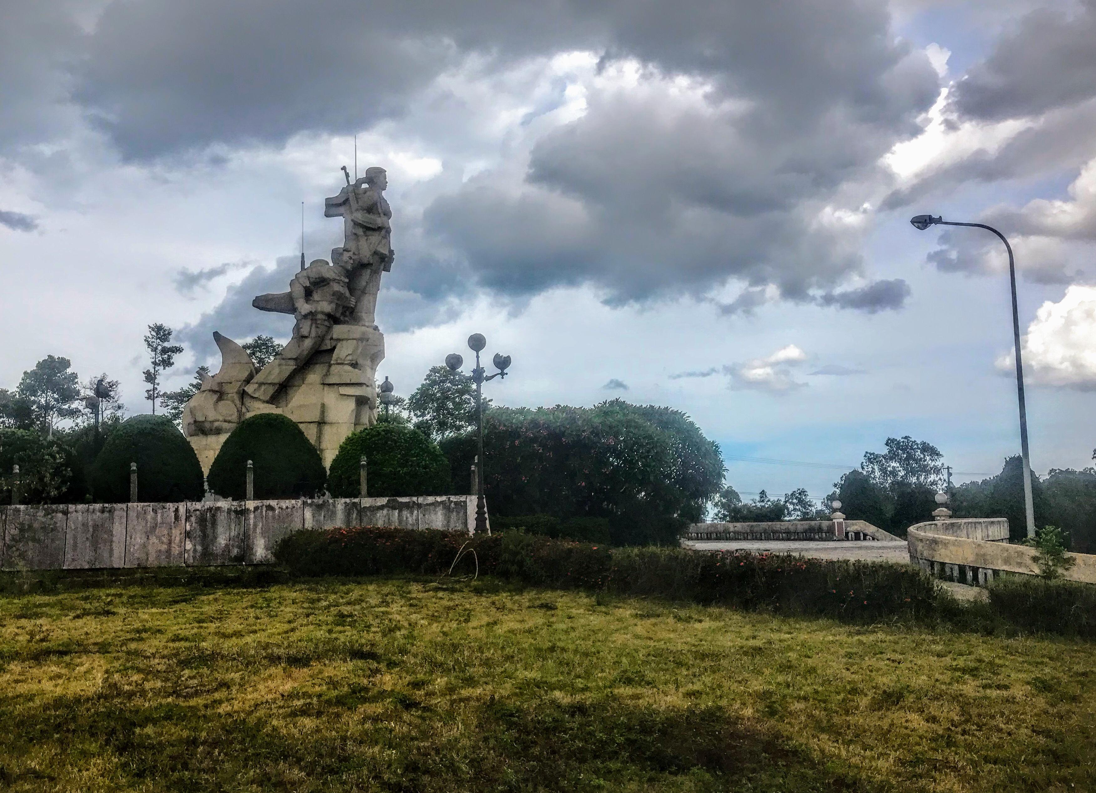 Doc Mieu Monument, Dong Ha, Vietnam