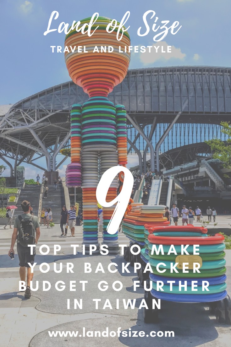 9 tips to make your backpacker budget go further in Taiwan