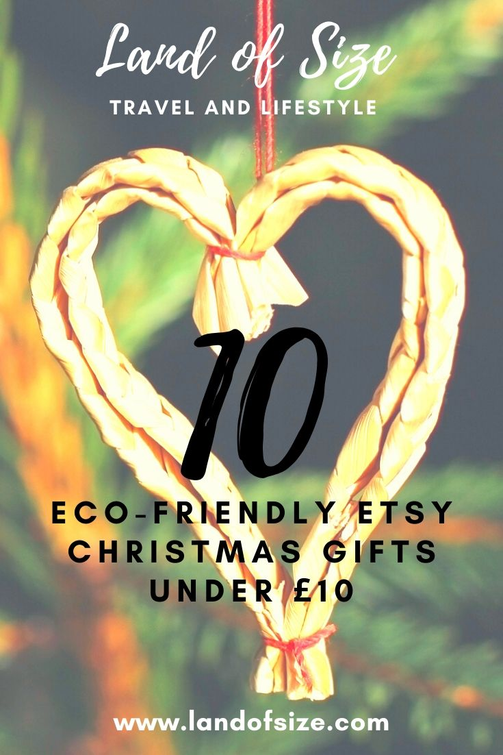 10 eco-friendly Etsy Christmas gifts under £10