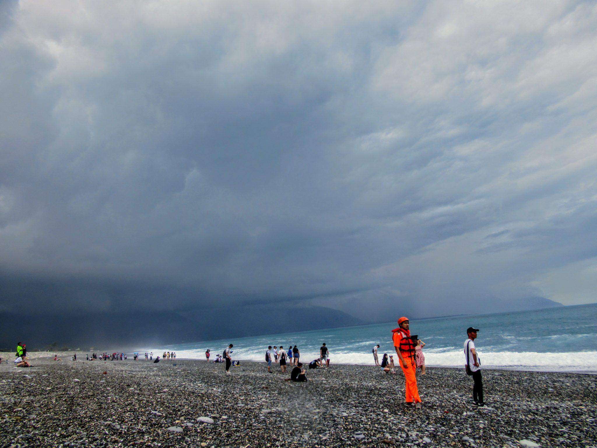 Qixingtan Beach, Hualien, Taiwan