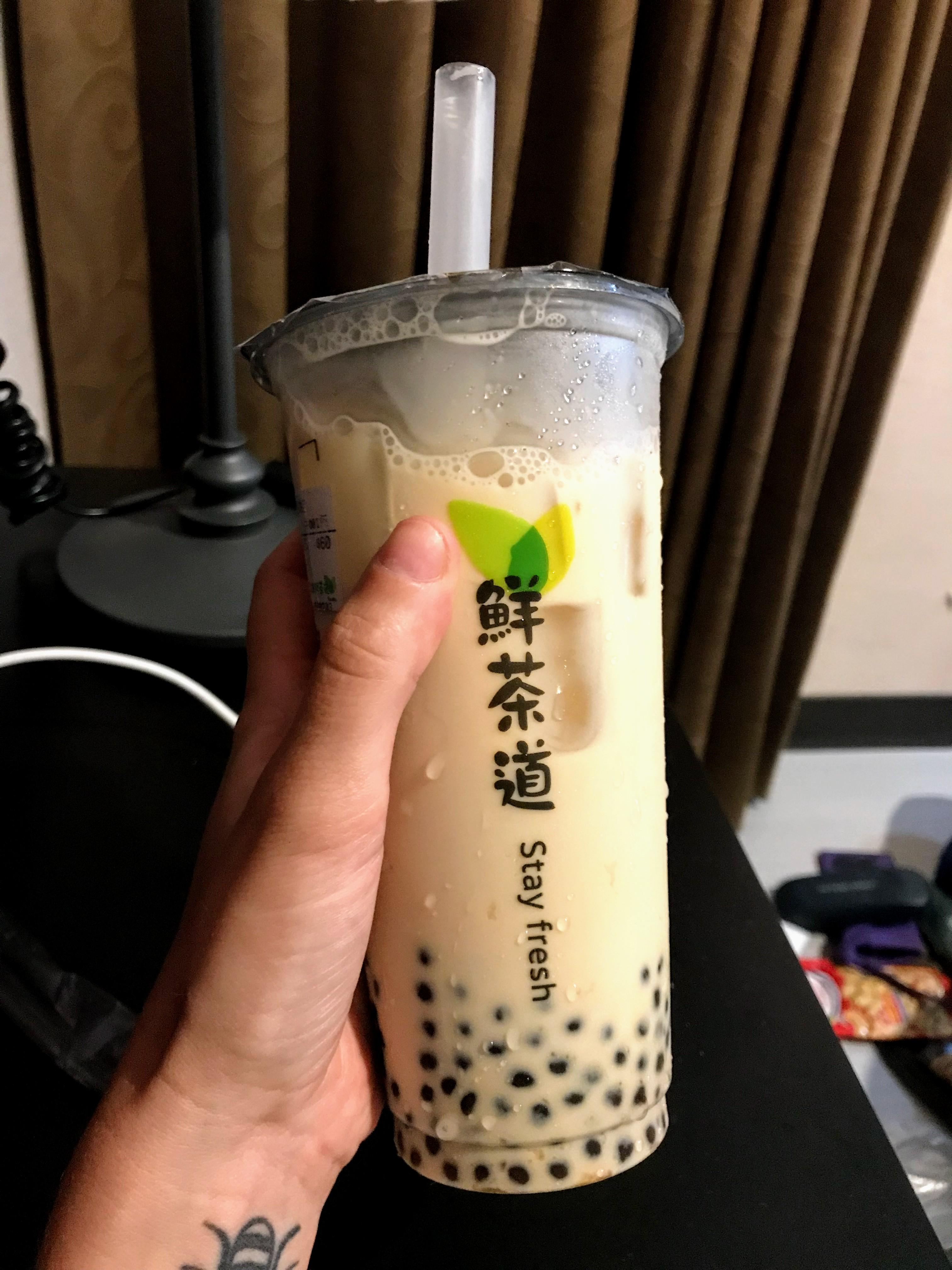 Bubble milk tea, Taiwan