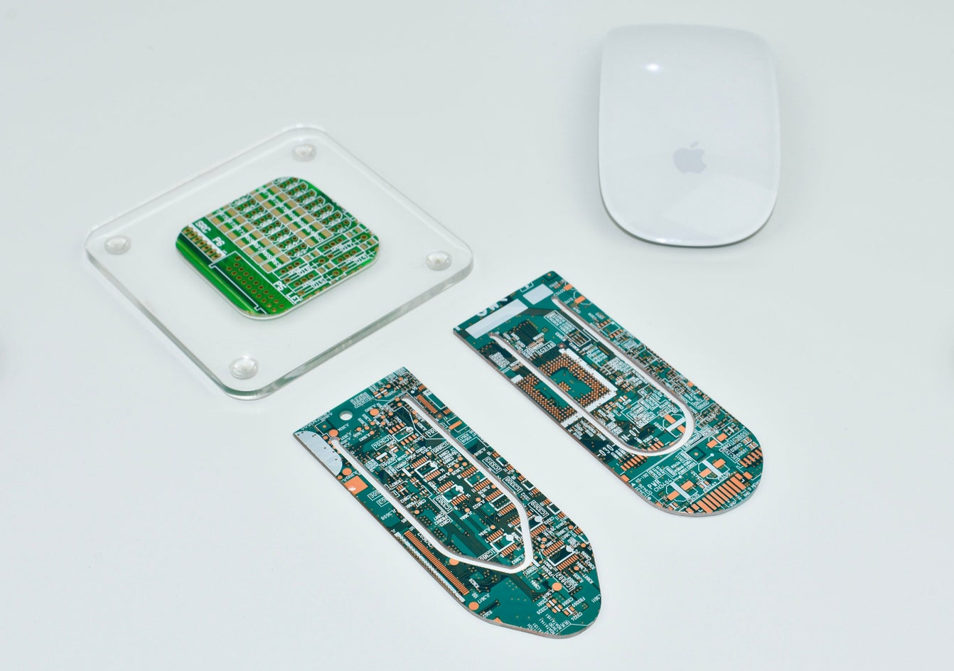 Circuit board bookmarks by AQuarterPastEight