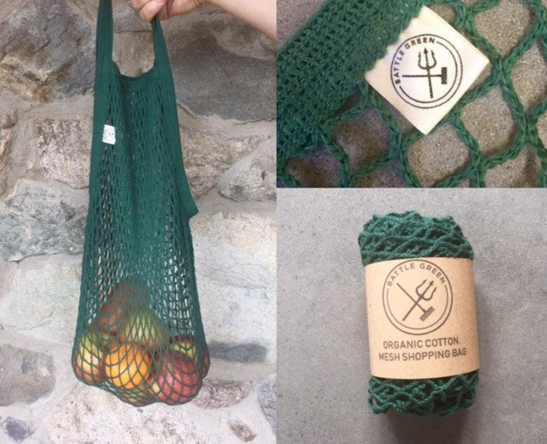 Green string bag, BattleGreenBox