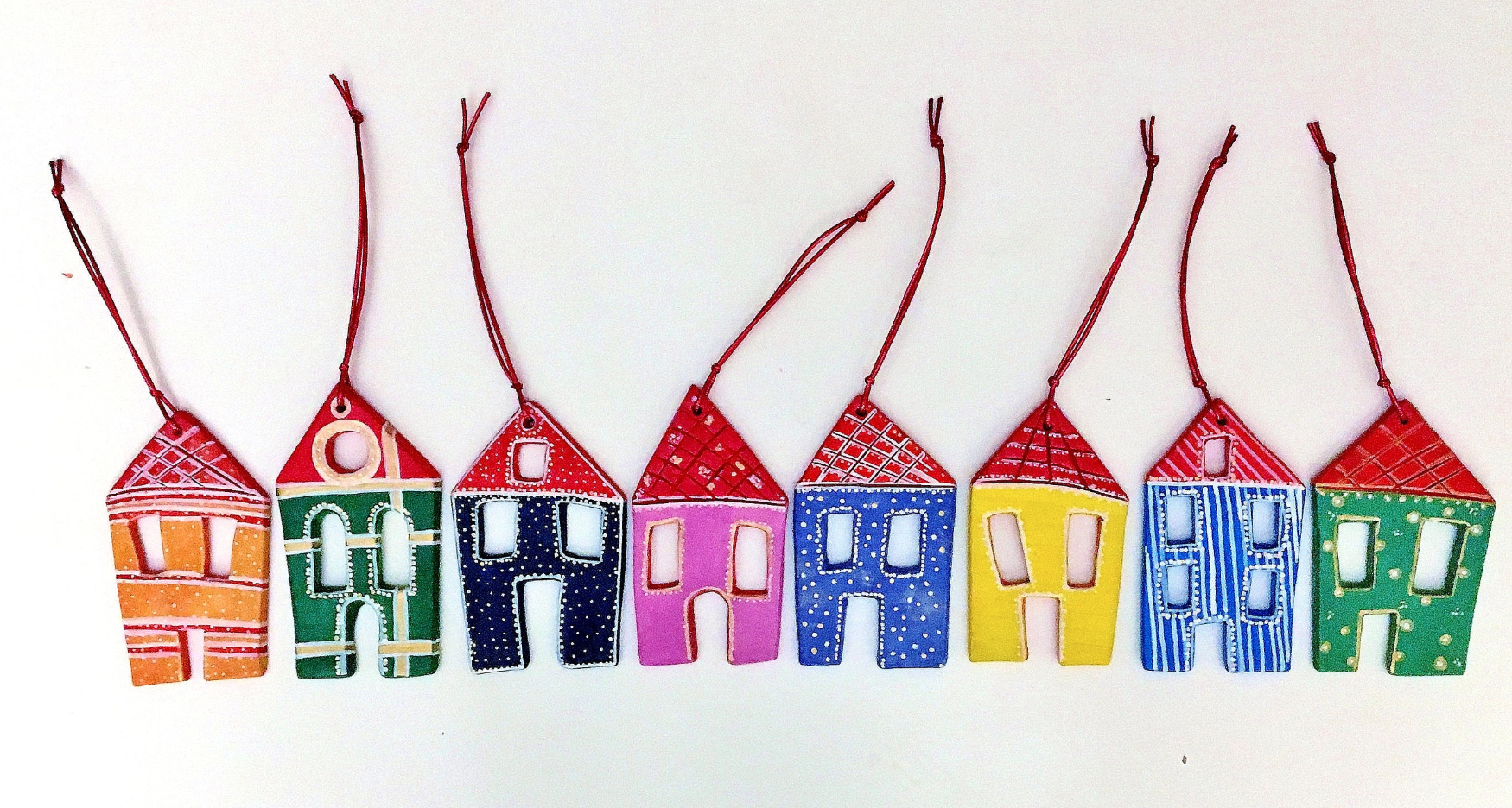 Personalised ceramic house, Etsy