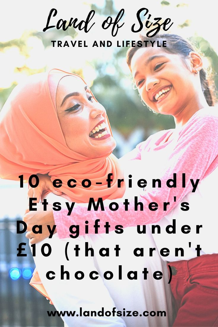 10 eco-friendly Etsy Mother's Day gifts under £10 (that aren't chocolate)