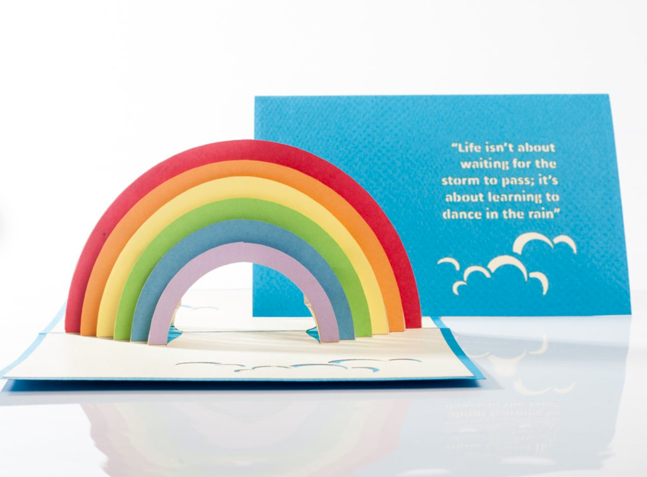 Rainbow Pop Up Card