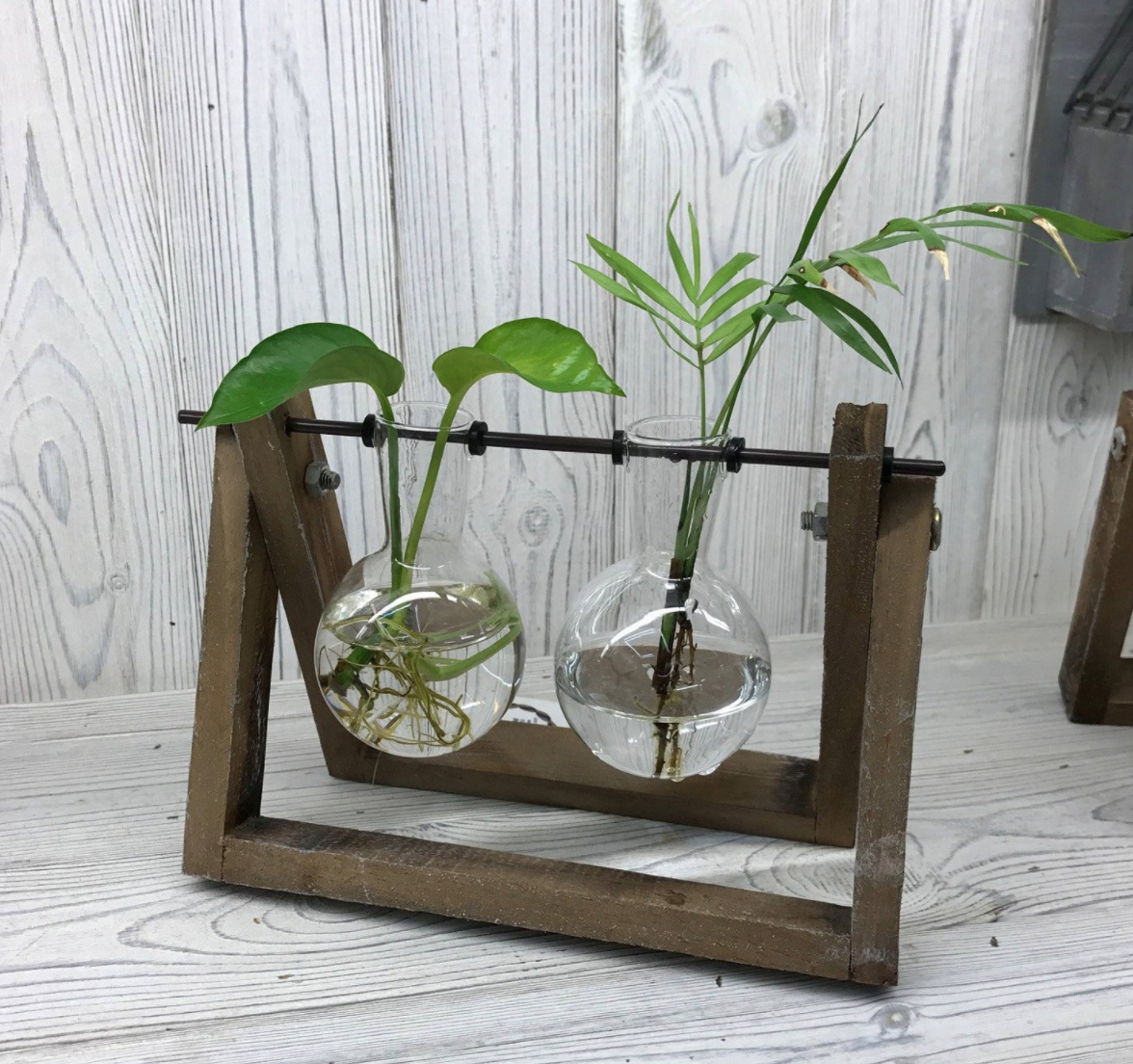 Recycled plant stands, Etsy UK