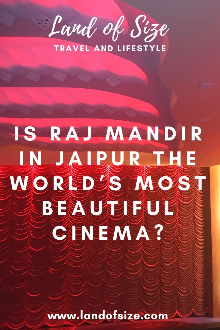 Is Raj Mandir in Jaipur the world's most beautiful cinema?