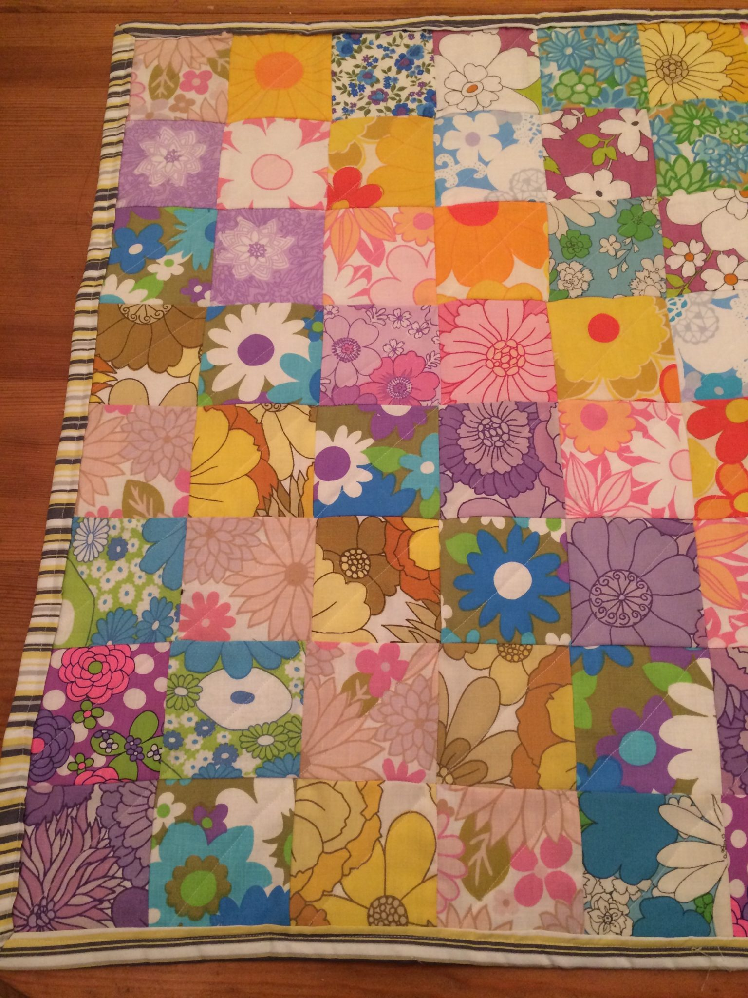 How to make a really simple quilt
