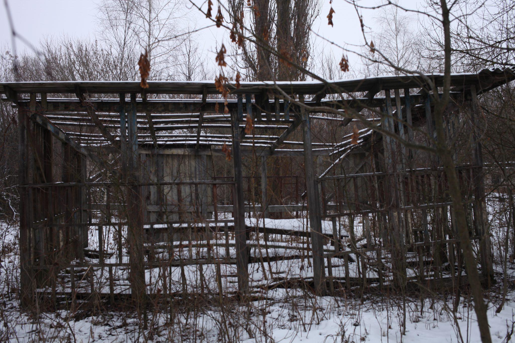 Abandoned school in Zalissya