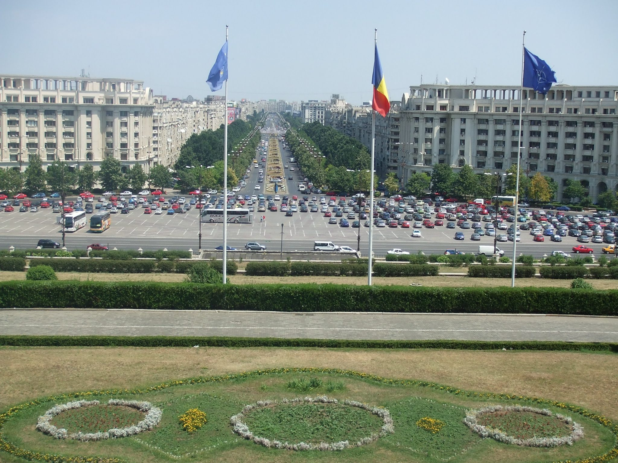 View from the Palace of Parliament, Bucharest