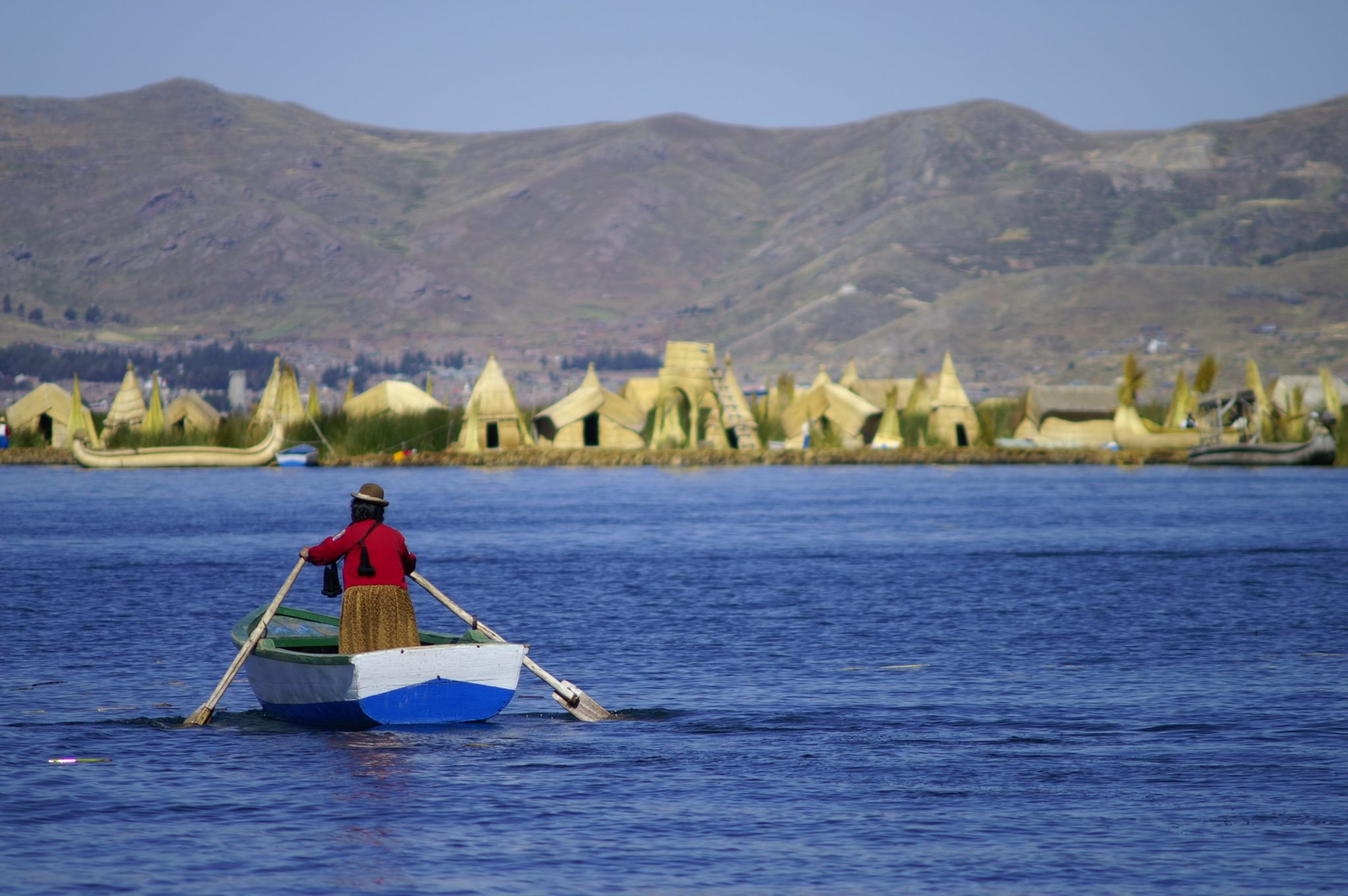 Uros Islands (Titicaca Lake), Peru