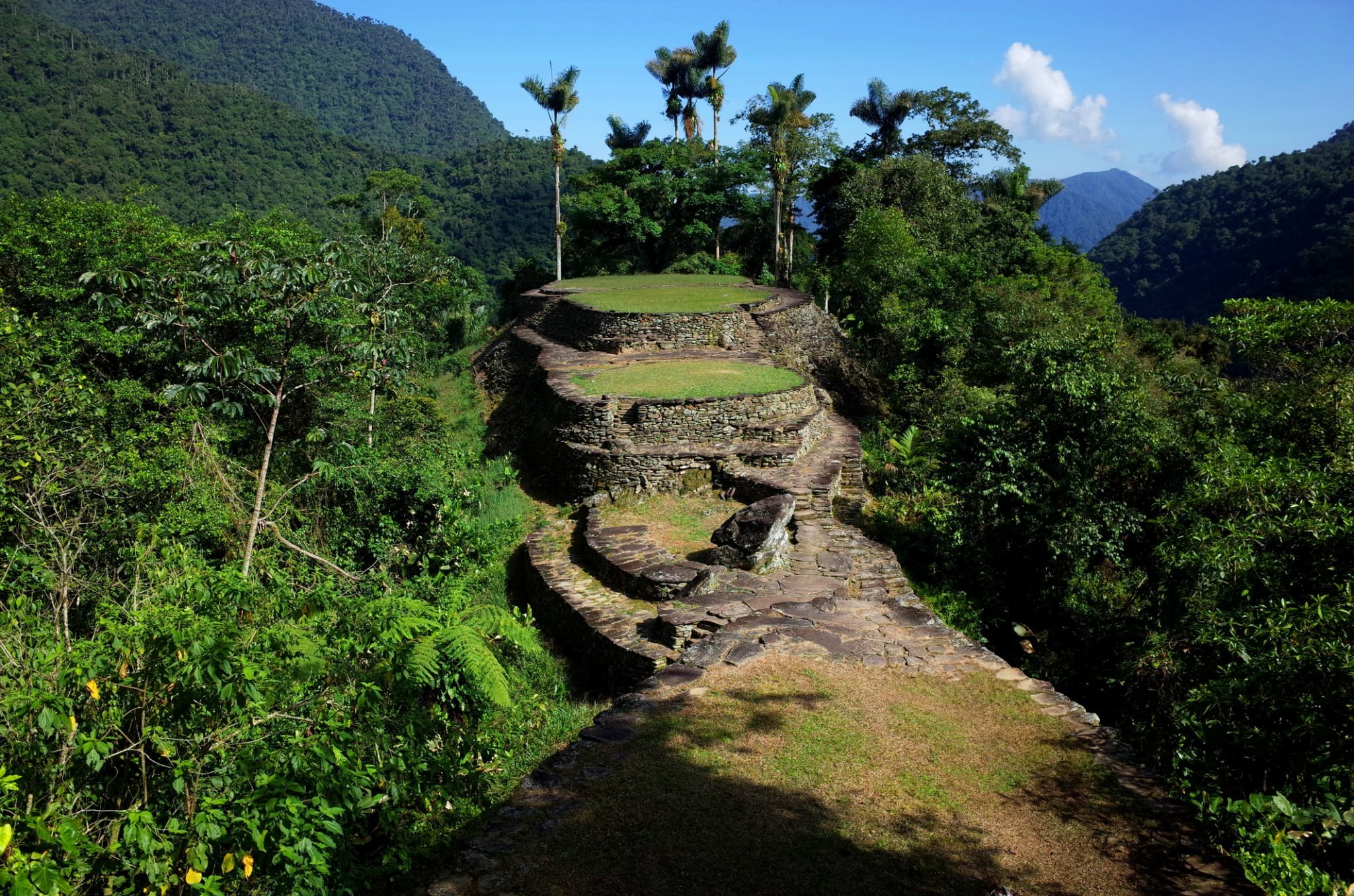 La Ciudad Perdida (Lost City) in Colombia