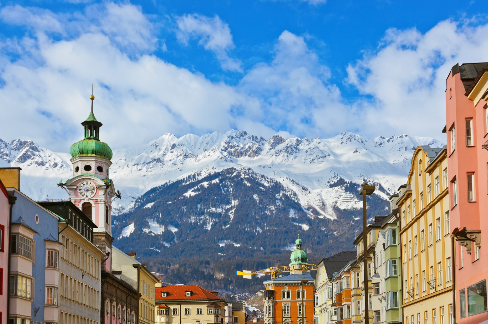 Old town in Innsbruck, Austria