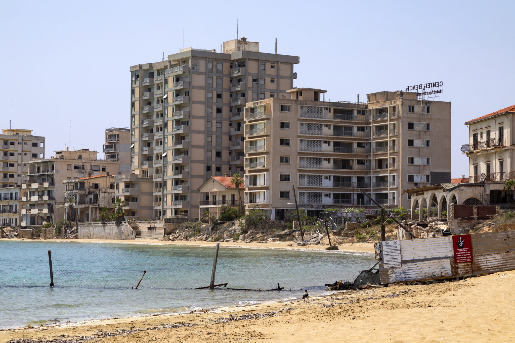 The abandoned southern quarter of the Cypriot city of Famagusta.