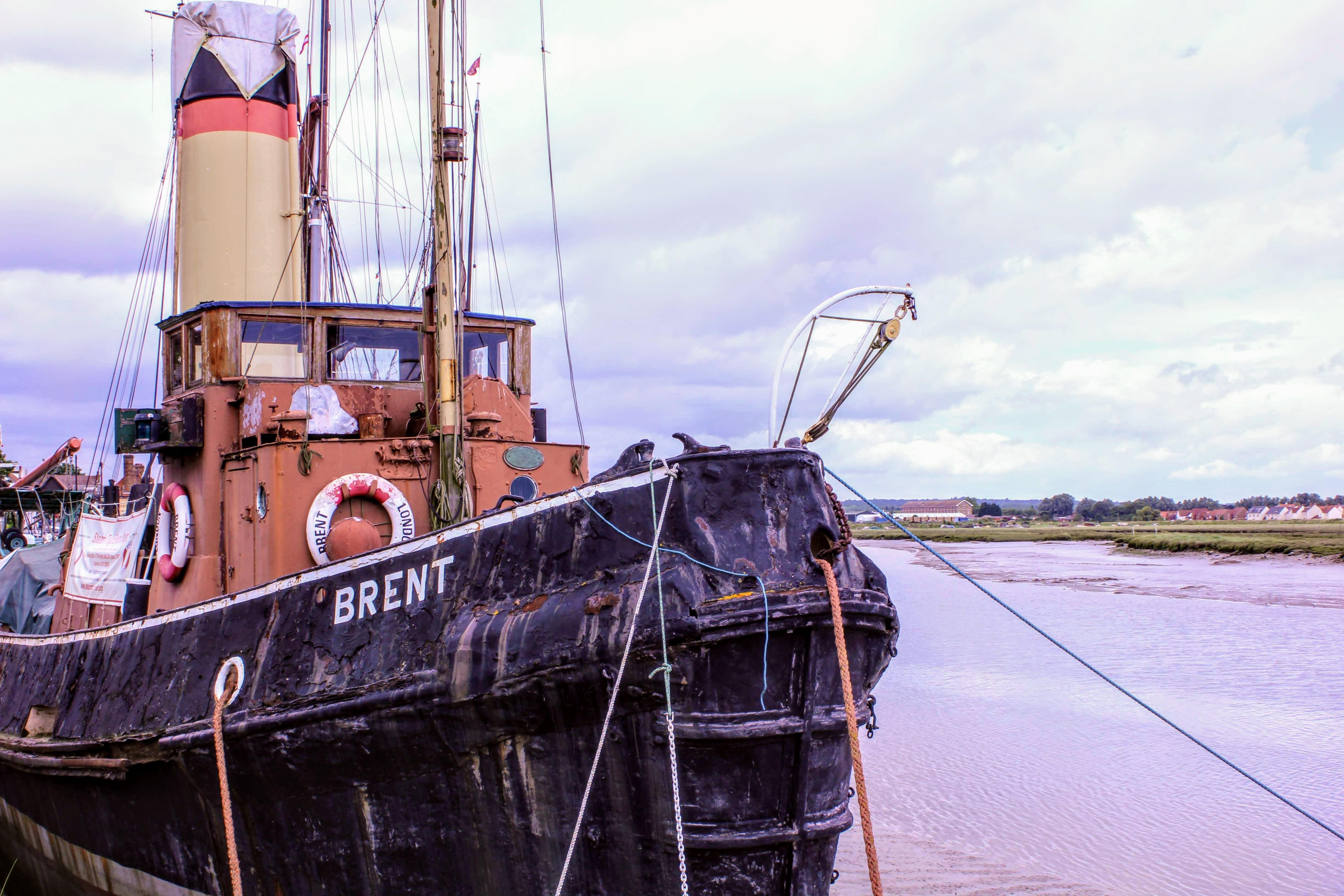 Ship in Maldon, Essex