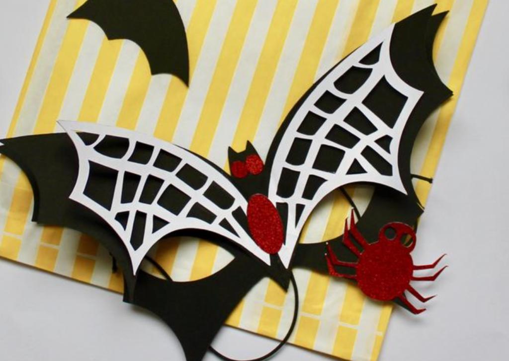 Bat mask, denandsett, Etsy