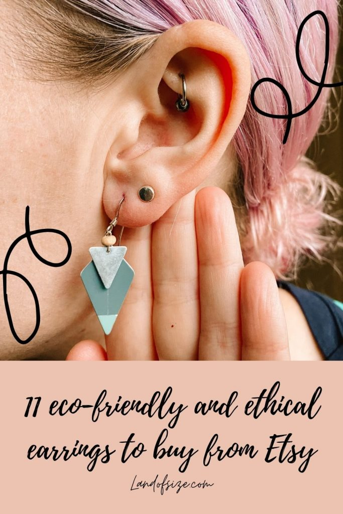 11 eco-friendly and ethical earrings to buy from Etsy