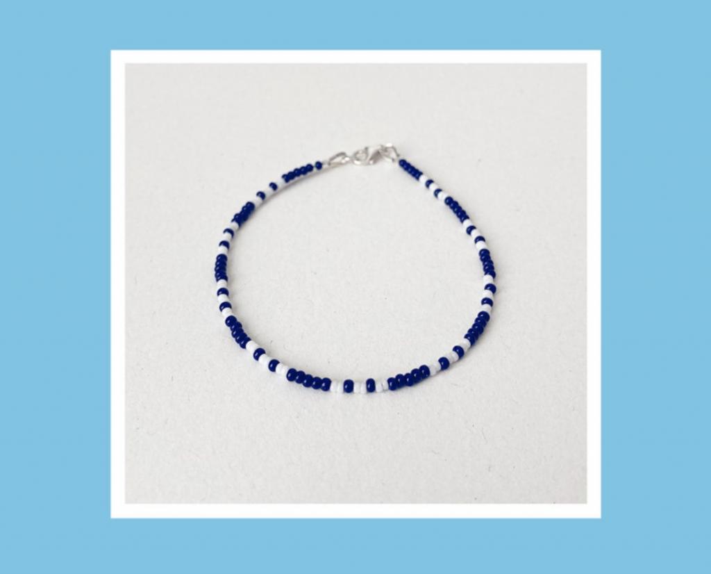 Beaded bracelet, Tania A Ada, Etsy